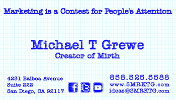 SMarketing Business Card Inside